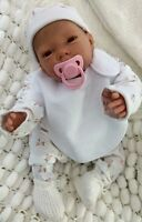 "SUNBEAMBABIES 20"" NEW BROWN EYES REBORN REALISTIC DOLL BABY CUTE GIRL LIFE LIKE"