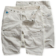 G-STAR RAW CARGO SHORTS ARC LOOSE TAPERED 1/2 MILK WHITE  W30 RRP$195