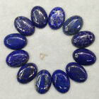 Wholesale 20pcs/lot top quality Natural Lapis Lazuli Oval CABOCHON Beads 25x18mm
