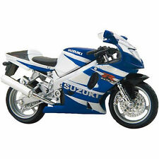 MAISTO 1:18 Suzuki GSX R750 MOTORCYCLE BIKE DIECAST MODEL TOY NEW IN BOX