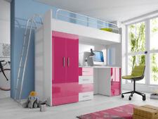 Rosa Kinder-Stockbetten für Jungen & Mädchen