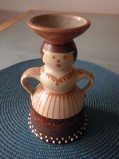 KMK Kupfermühle Keramik Figur Vase Kerzenhalter Pottery