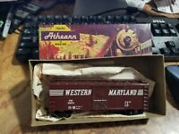 Vintage Athearn - Car in Box - Very Nice - 1200 - Western Maryland