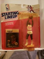 1988 Chicago Bulls Michael Jordan  Vintage Starting Lineup!! Box not Perfect