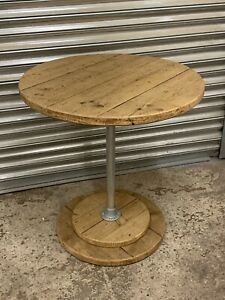 Rustic Reclaimed Scaffold Board Industrial Style Dining/ Bistro/ Pub Table