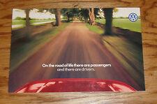 Original 1997 Volkswagen VW Full Line Sales Brochure 97 Jetta Golf Passat Cabrio