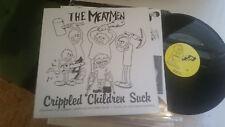 The Meatmen Crippled Children Suck LP NM 1990 Punk KBD w/inr compilation '80s