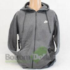 Nike 804389-071 Men's Sportswear Fleece Full Zip Hoodie Charcoal Heather (Large)