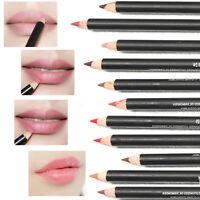 12 Colores Maquillaje Brillo Perfilador Delineador de Labios Lápiz Labial Liner