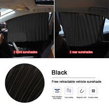 4pcs Magnetic Car Window Sun Shade Auto Visor Shield Curtain Cover Accessories