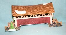 Dept 56 Heritage Village Collection New England Village Mill Creek Crossing