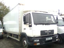 MAN LE 150C BOX LORRY WITH TAIL LIFT 7.5 TON ON SPRINGS
