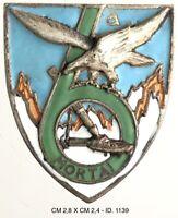 Alpini 6° Mortai distintivo di reparto Esercito Italiano prod. Lorioli