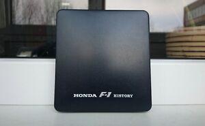 Genuine Honda Accessory F-1 History Pins 1964-1990 Formula Senna McLaren Rare