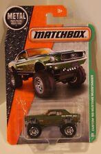 Matchbox 2016 MBX Explorers Custom '68 Mustang Mudstanger Skyjacker 4x4 QUANTITY