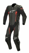 Alpinestars MISSILE LEATHER SUIT 1 PC - Black/Red TECH-AIR COMPATIBLE