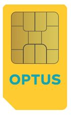 Optus 4GB 28 Days Sim [01/06/2021] Broadband Data Only, Standard Size Only