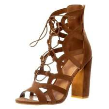 High Heel (3-4.5 in.) Gladiators Evening Sandals for Women