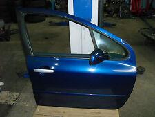 Peugeot 307 SW 1.6 16V 01.03 Türe vorne rechts Bleu de Chine (blau)  EGED