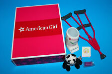 American Girl Doll McKenna Get Well Set Cast Crutches More in Box