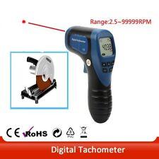 Handheld Lcd Digital Tachometer Non Contact Measuring Range 25 99999 Rpm