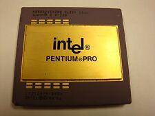 SL22V INTEL PENTIUM PRO KB80521EX200 256K 200MHz CPU L7102191-0628 387-PIN GOLD!