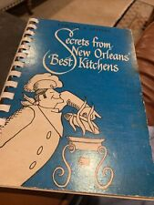 Vintage Secrets From New Orleans' Best Kitchens Cookbook 1975 5th Printing