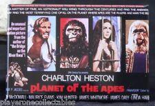 "The Planet of the Apes Movie Poster 2"" X 3"" Fridge / Locker Magnet. Heston"
