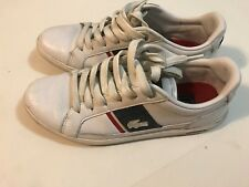 Mens Lacoste Strategic Trend Europa SR Premium Fashion Sneakers Size 7.5