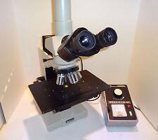 NIKON OPTIPHOT  BF/DF REFLECTED LIGHT METALLURGICAL RESEARCH MICROSCOPE **NICE**