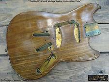 Vintage 1960's Fender Mustang Body PRE-CBS Sonic Blue Seafoam Green 1964 1965 66