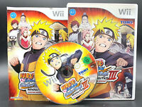 "NINTENDO WII SPIEL"" NARUTO SHIPPUDEN CLASH OF THE NINJA REVOLTION III (3)"