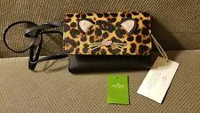 NEW Kate Spade Leopard print Summer Run Wild Crossbody Purse Leather Calf Hair