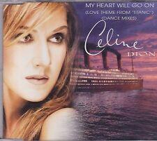 Celine Dion- My Heart will Go On cd maxi single
