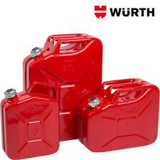 Tanica Benzina 20 Litri Metallo Omologata Standard Militari - WÜRTH