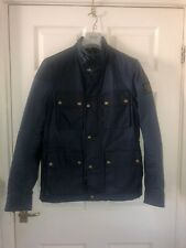 Belstaff Wax Jacket 48 Medium Trialmaster Rrp £550 Original Waxed Designer Coat