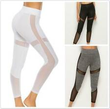 Women Yoga Fitness Leggings Gym Sports Exercise High Waist Stretch Pants Trouser