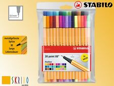 Stabilo Point 88 Fineliner - Der Klassiker - in 30 Farben, - NEU - incl 5 Neon