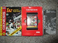 Taz in Escape From Mars  (Sega Genesis, 1994) Complete in Box