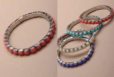 Unbranded Stretch Stone Costume Bracelets