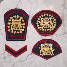 City of Calgary Police Patch Lot