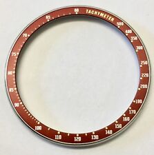 Steel bezel w/ insert for seiko 6138-0040 6138-0049 Bullhead chronograph Brown
