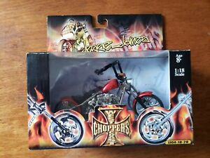 Jesse James Barfly West Coast Choppers ACTION 1:18 Scale NEW unoponed
