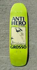 "Antihero Jeff Grosso Lance Mountain Art Skateboard Deck 9.25"""