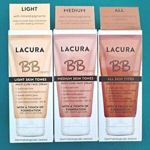 Lacura BB Multi Care Face Cream Blurs Lines Luminous Glow Tones Mineral SPF15