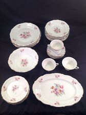 Vintage Walbrzych Poland China 28 piece set Baum Bros
