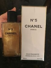 CHANEL No. 5 Fragments D'Or Gold Fragments Body Gel New SEALED in Box