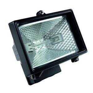 Timeguard 150W Halogen Security Floodlight Black NCFB150
