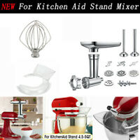 6-Wire Whip & Pouring Shield Guard Meat Grinder Sausage Stuffer For Kitchen Aid