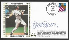 Ryne Sandberg Autographed Home Run Record Gateway Stamp Envelope Postmark